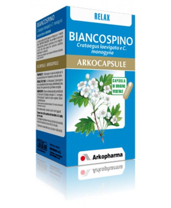 Arkocapsule Linea Sonno e Serenità Biancospino Integratore Alimentare 45 Capsule - La tua farmacia online