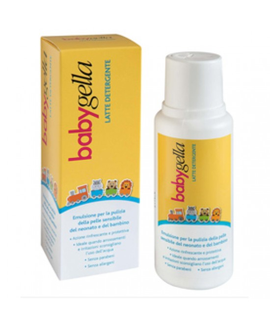 Babygella Latte Detergente 250ml - Farmafamily.it