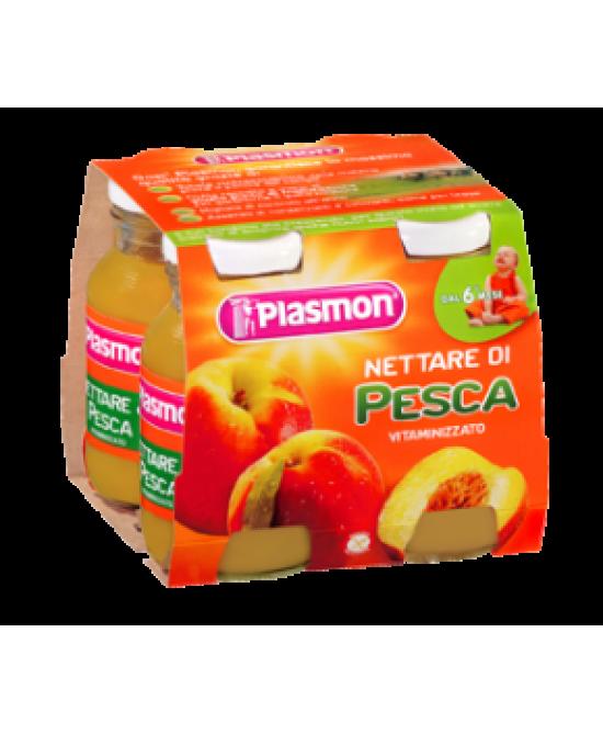 Plasmon Nettare di Pesca 4x125ml - Farmafamily.it