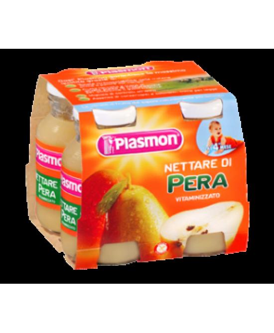 Plasmon Nettare di Pera 4x125ml - Farmafamily.it