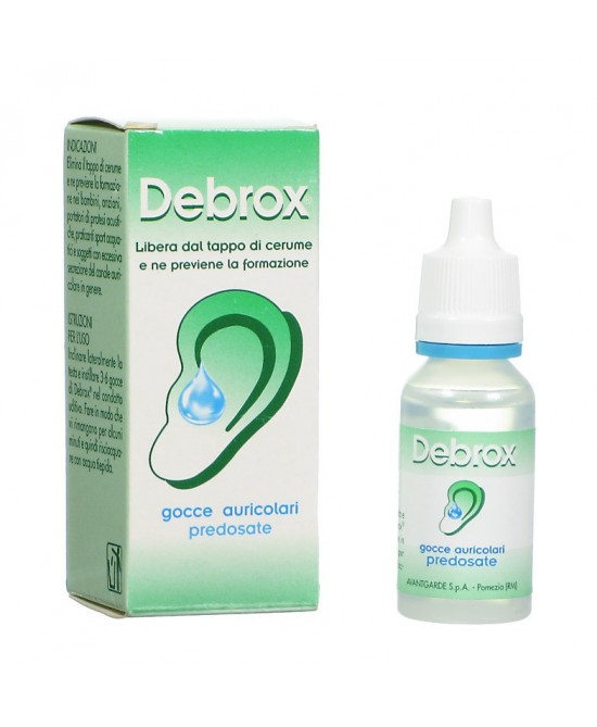 Debrox Gocce Auricolari Flacone Da 15ml - Farmapage.it