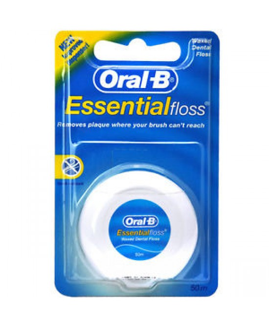 Oral-B Essential Floss Filo Interdentale Cerato 50 Metri - Farmastar.it