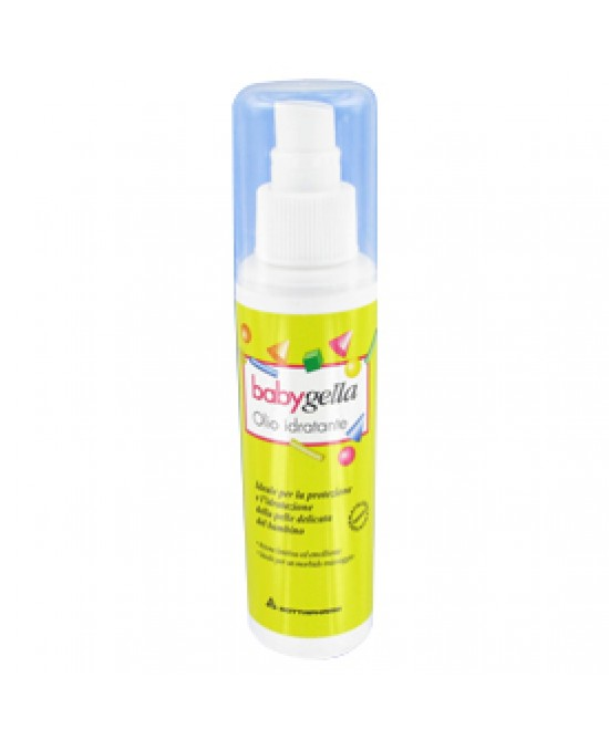 BABYGELLA OLIO IDRATANTE FLACONE 125 ML SPRY - Farmapc.it