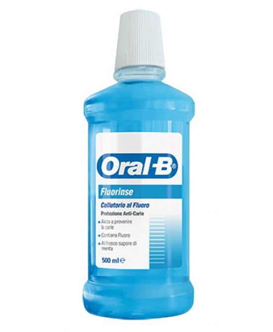 Oral-B Fluorinse Collutorio Al fluoro 500ml - Farmapage.it