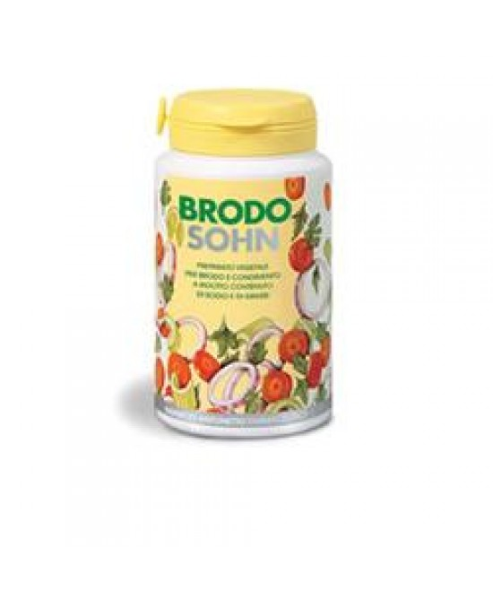 BrodoSohn Preparato Vegetale Per Brodo E Condimento 200g - Farmapc.it