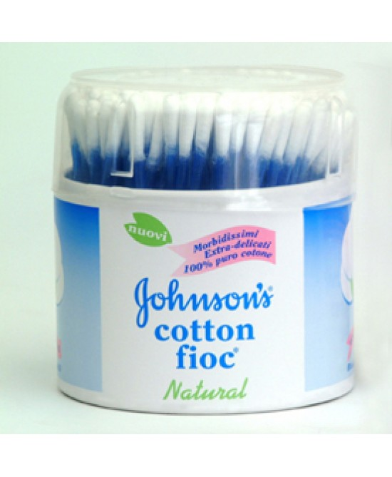 Johnsons Baby Cotton Fioc 100p - La farmacia digitale