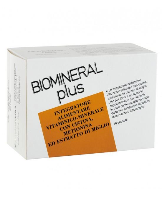 Biomineral Plus Integratore Alimentare 60 Capsule - La farmacia digitale