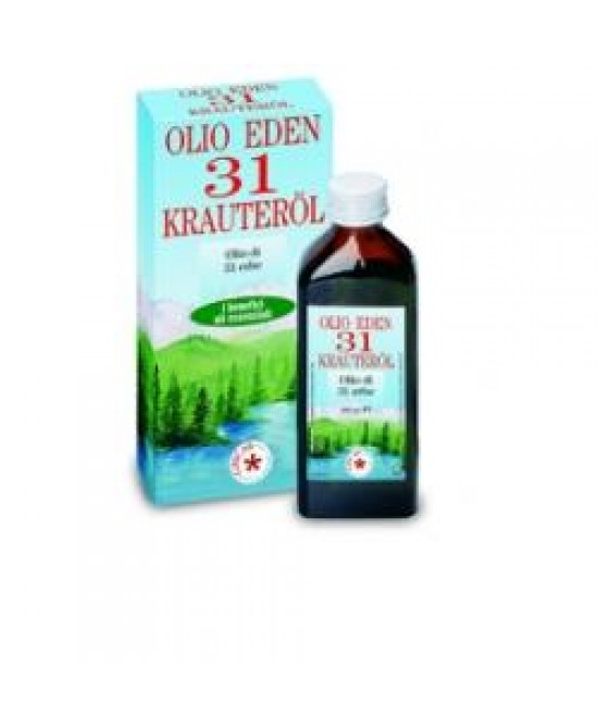 Olio Eden 31 Erbe 100ml - farma-store.it