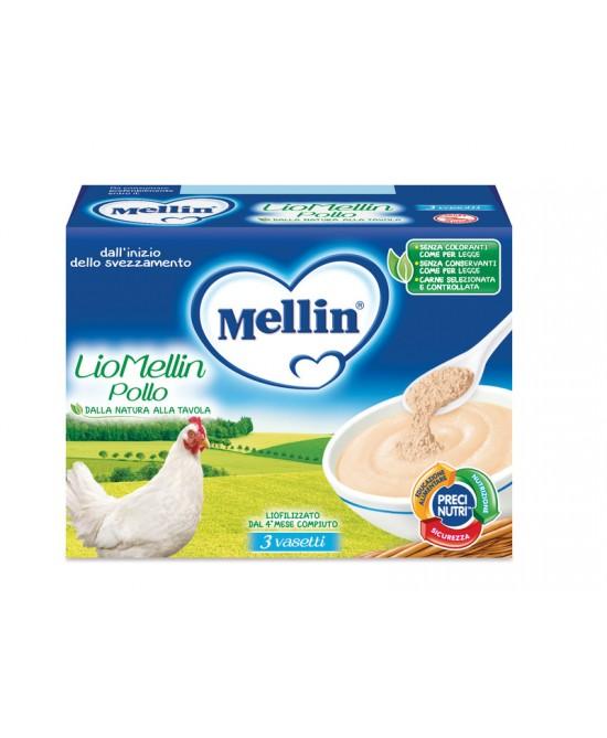 Mellin Liofilizzati LioMellin Pollo 3x10g - Farmapc.it