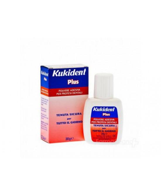 Kukident Plus Polvere Adesiva 30 g - Farmalilla