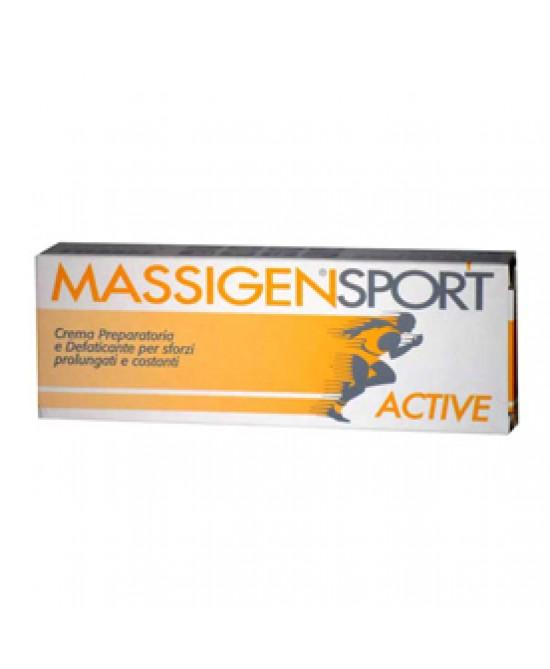 Massigen Sport Active Crema 50ml - Sempredisponibile.it