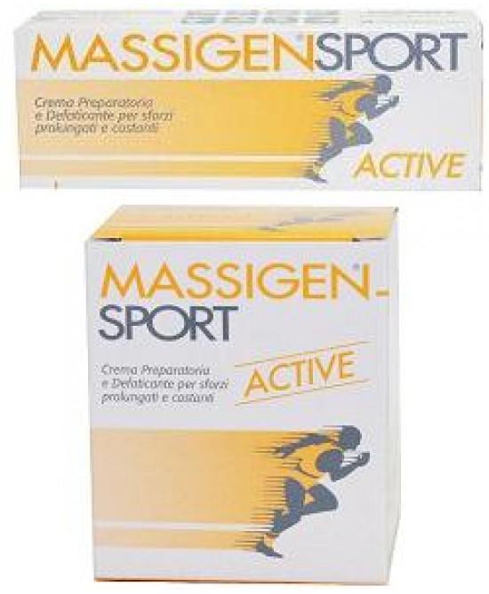 Massigen Sport Active Cr 100ml - Parafarmacia la Fattoria della Salute S.n.c. di Delfini Dott.ssa Giulia e Marra Dott.ssa Michela