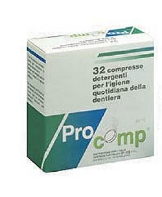 Profast pH 10 Detergente Per La Pulizia Delle Protesi 32 Compresse