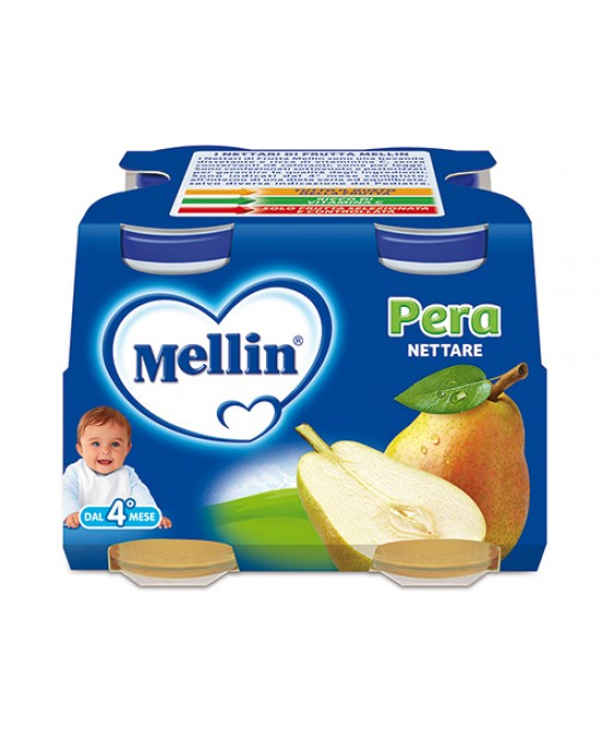 Mellin Nettari Di Frutta  Pera 4x125ml - Farmabros.it