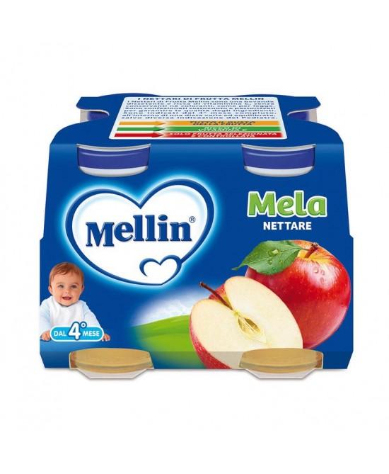 Mellin Nettari Di Frutta  Mela 4x125ml - Farmaunclick.it