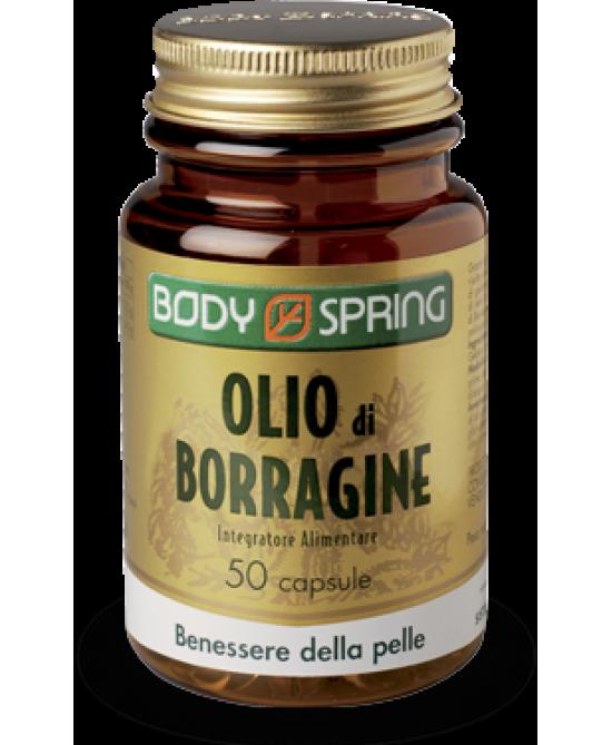 Body Spring Olio Di Borragine 50 Capsule - Farmafamily.it