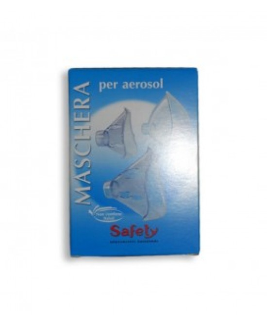 Safety Prontex Maschera Universale Ricambio Per Aerosol - Farmafamily.it