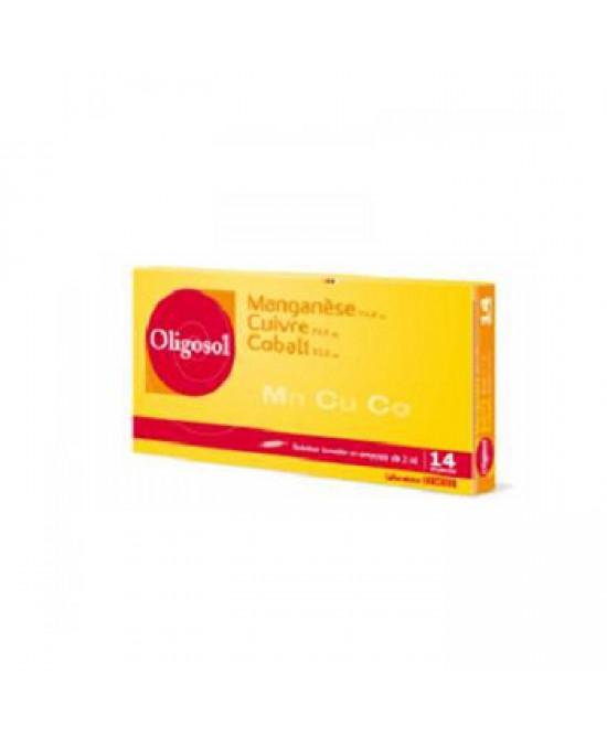 Labcatal Oligosol Manganese Rame Cobalto Integratore Alimentare 14 Fiale Da 2ml - Farmastar.it
