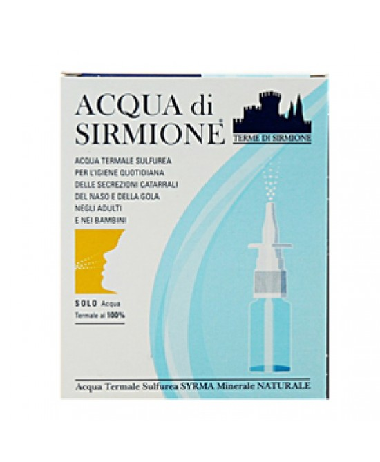 Acqua Sirmione Minerale Naturale 6f da 15ml - La farmacia digitale