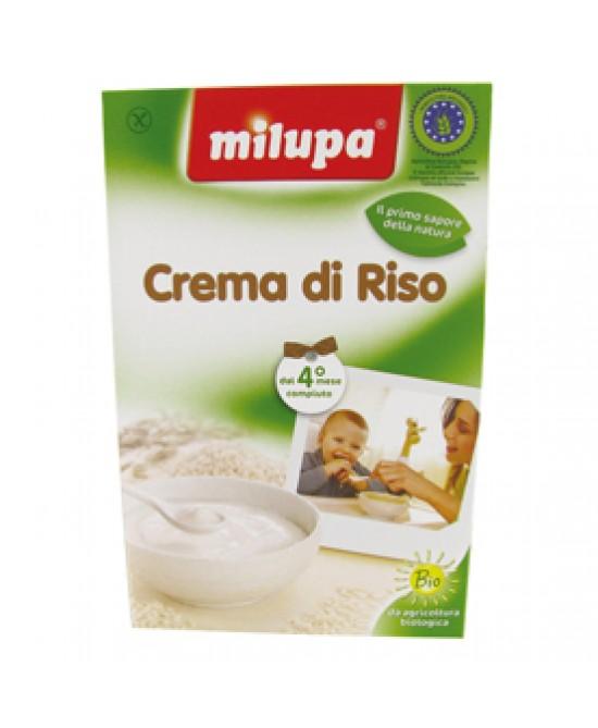 Milupa Fior Di Cereali Crema Di Riso Biologico 200g - Zfarmacia
