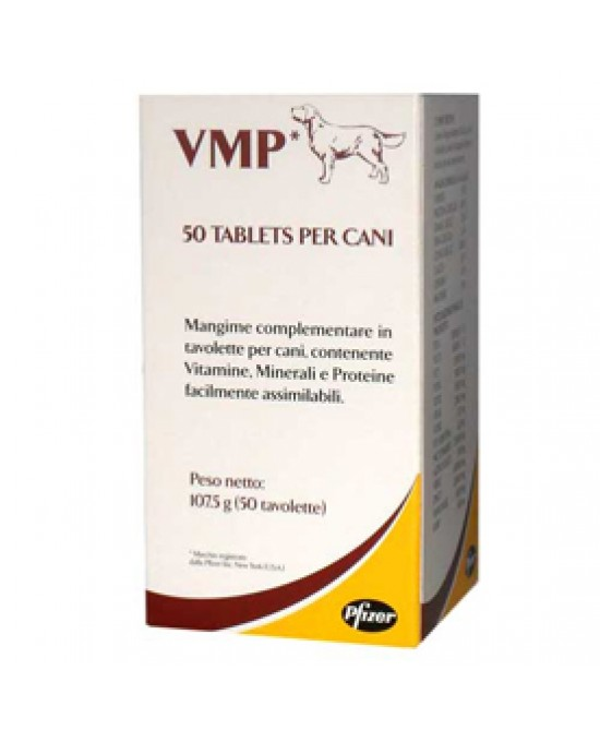 Vmp Pfizer Cani 50cpr - Farmastar.it