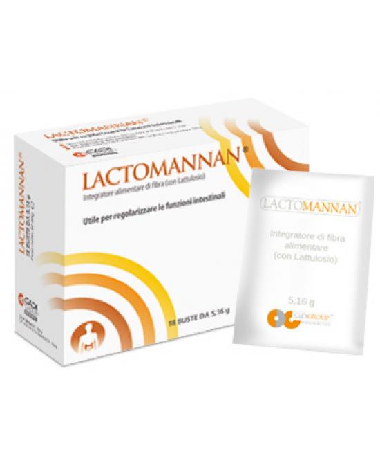Lactomannan 8 buste - Zfarmacia