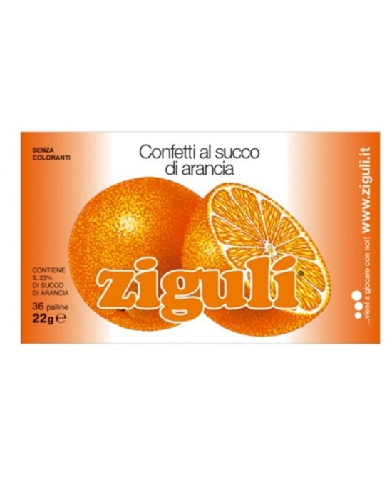 Ziguli Arancia 36 Palline 22g - FarmaHub.it