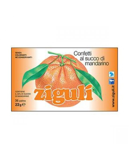 Ziguli Mandarino 36 Palline 22g - FarmaHub.it