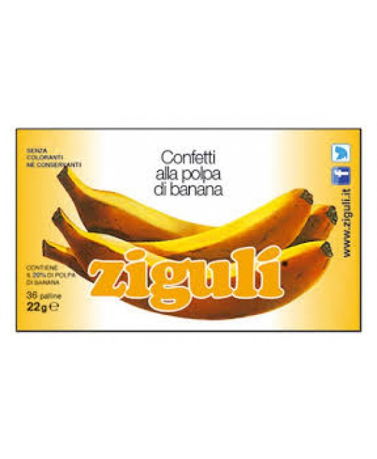 Ziguli Banana 36 Palline 22g - Farmawing