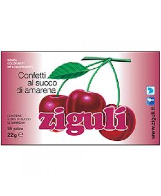 Ziguli Amarena 36 Palline 22g - FarmaHub.it