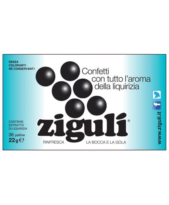 Ziguli Liquirizia 36 Paalline 22g - Farmacistaclick