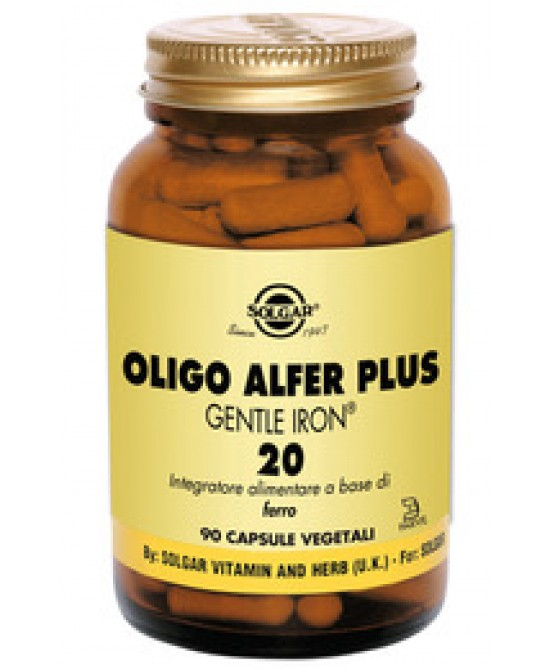 Solgar Oligo Alfer Plus 90 Capsule Vegetali - Farmabros.it