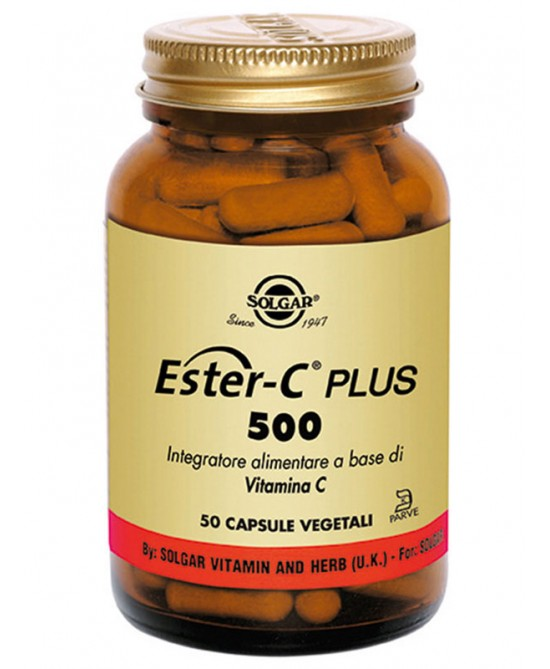 Ester C Plus 500 50 Capsule Vegetali - Sempredisponibile.it