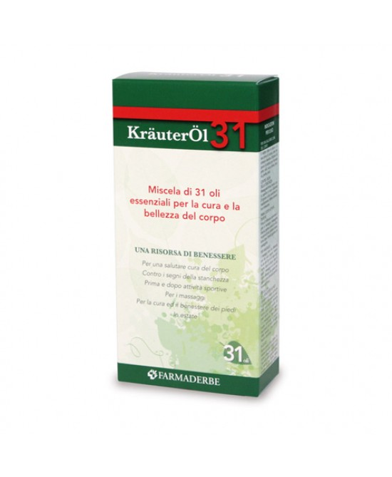 Farmaderbe KrauterOL 31 Miscela Di Oli Essenziali Cosmetici 100ml - Farmafamily.it