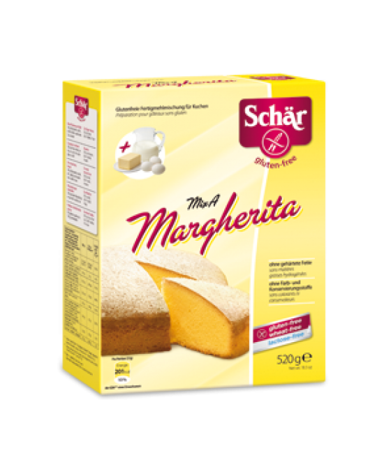 Schar Mix A Margherita Preparato Per Torta Margherita Senza Glutine 500+20g - FARMAPRIME
