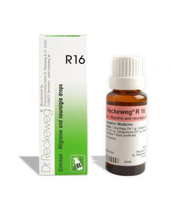 RECKEWEG R16 GOCCE 22ML-909462297
