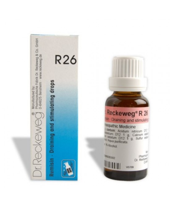 Dr. Reckeweg R26 Gocce Orali Omeopatiche 22 ml