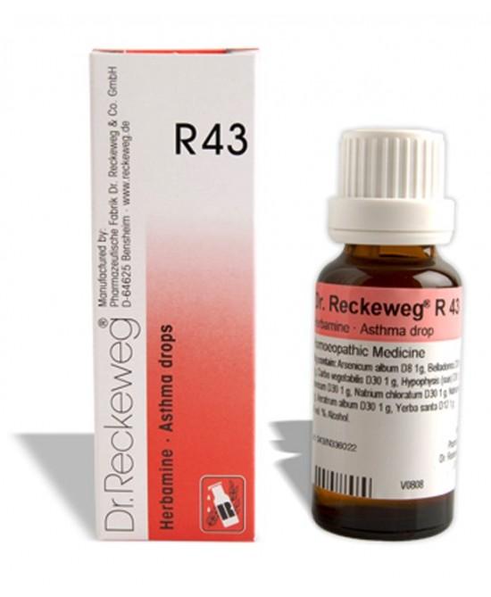 RECKEWEG R43 GOCCE 22ML prezzi bassi