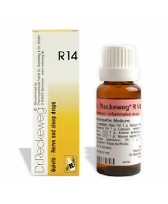 RECKEWEG R14 GOCCE 50 ML - Farmapage.it