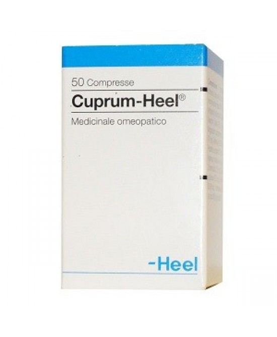 Heel Cuprum 50 Tavolette - Farmaciaempatica.it