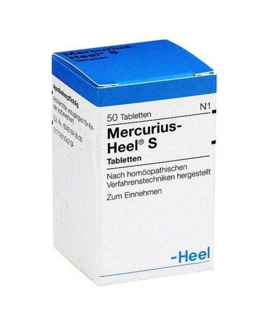 Heel Mercurius-Heel S 50 Compresse - Farmacistaclick