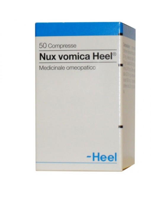 Heel Nux Vomica 50 Compresse - Farmaciaempatica.it