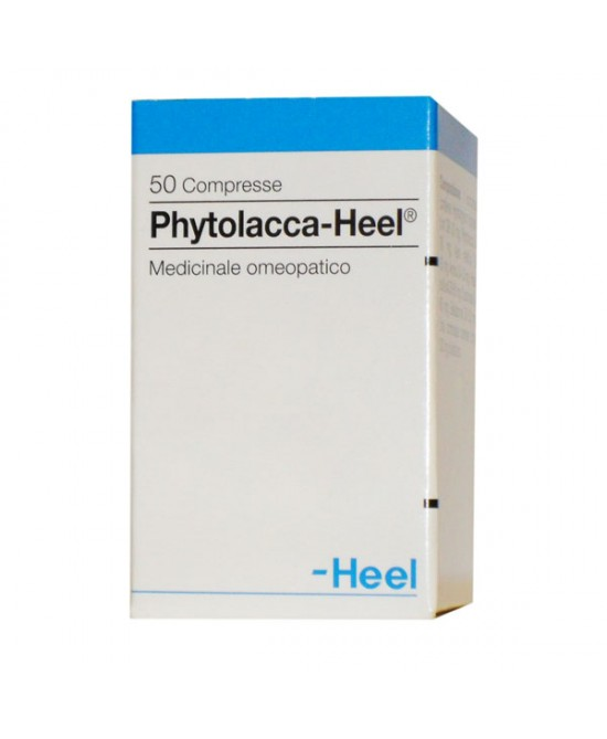 Phytolacca-Heel 50 Compresse - Farmapage.it