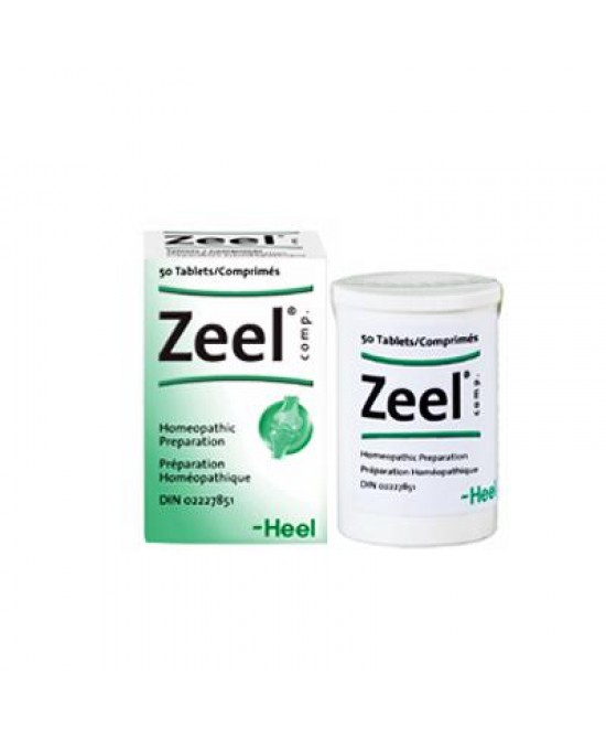 Heel Zeel T 50 Compresse - Farmaciaempatica.it