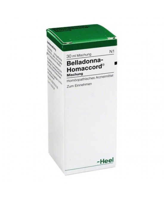 Heel Belladonna Homaccord Gocce 30ml - Farmastar.it