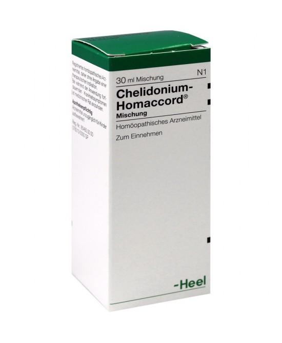 Guna Chelidonium Homaccord NT Gocce 30ml - Farmacento