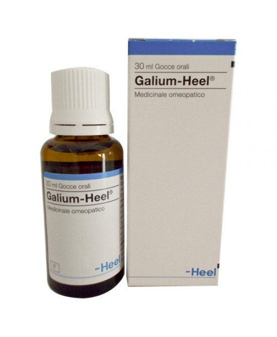HEEL GALIUM GOCCE 30 ML - La farmacia digitale