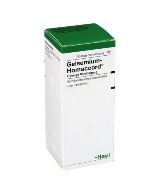 Heel Gelsemium Homaccord Medicinale Omeopatico Gocce 30ml - Farmajoy