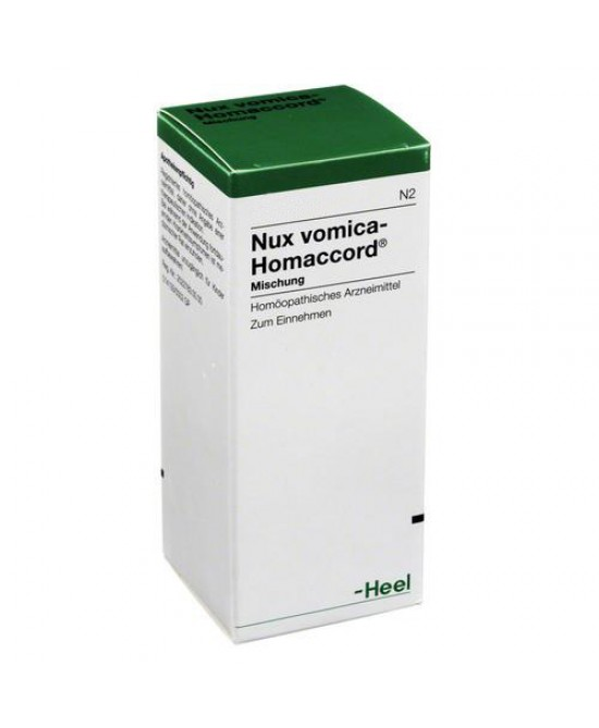 Heel Nux Vomica-Homaccord Gocce 30ml - Farmastar.it