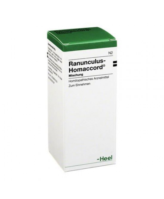 Heel Ranunculus-Homaccord Gocce 30ml - Farmaciaempatica.it